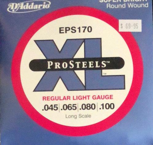 D'Addario XL Prosteels Reg Light Bass Guitar Strings .045-.100