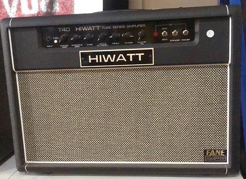 Hiwatt T40 Tube Amp