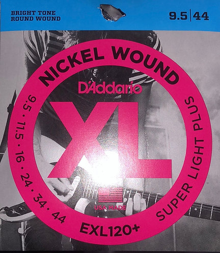 D'Addario XL Super Light Electric Guitar Strings 9.5-44