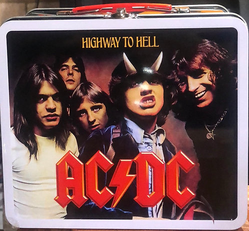 AC/DC metal lunch box