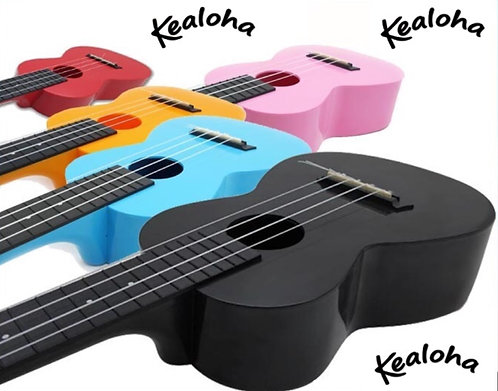 Kealoha Ukulele w/bag - various colours