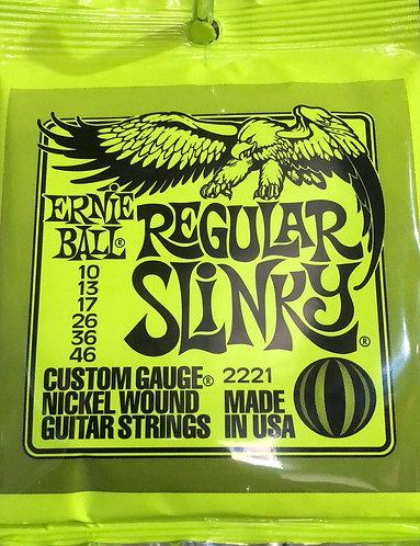 Ernie Ball Regular Slinky Nickel Guitar Strings 10-46