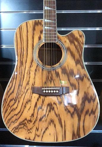 Rockstar Signature Series Tiger Wood Acoustic Guitar