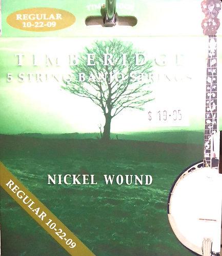 Timberidge 5 string Banjo Stings Reg