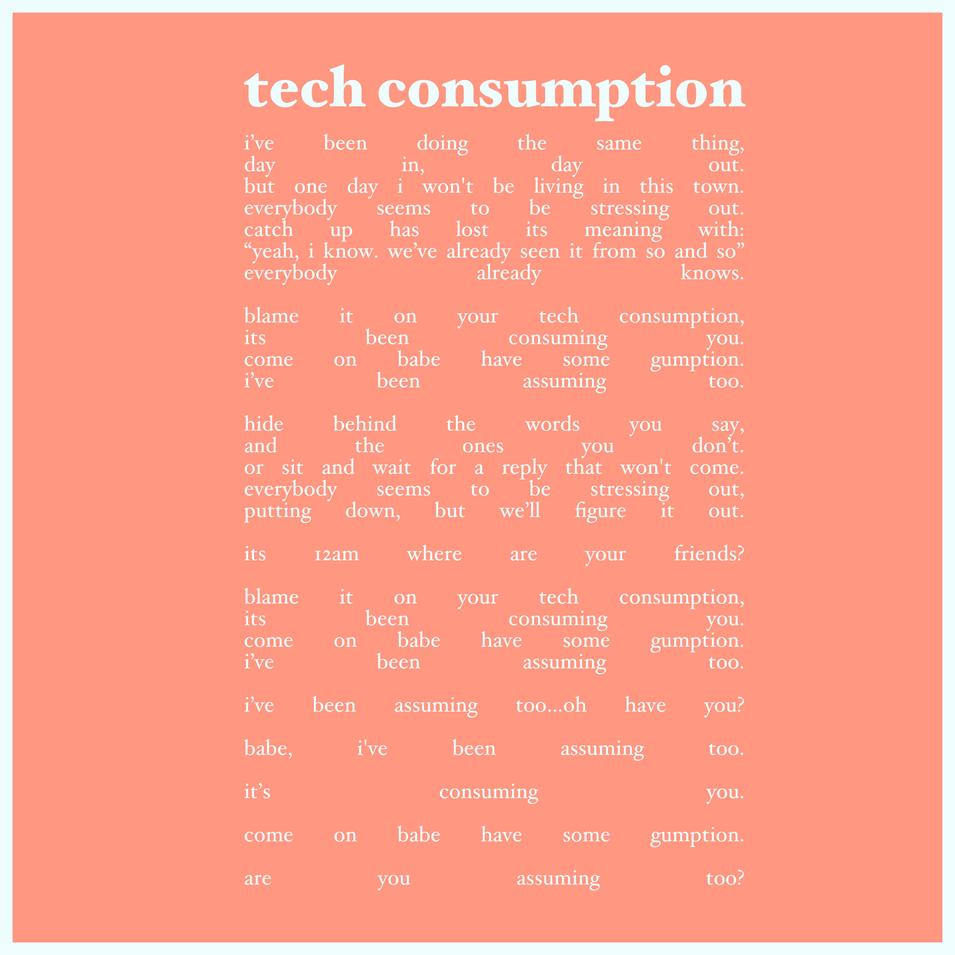 4 - tech consumption