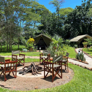 The Woodlands firepit, for sundowners and stargazing