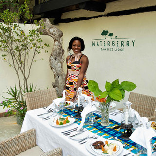 Formal Dining at Waterberry Lodge in Zam