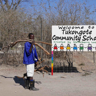 tukongote - our school in the community proudly built and supported by Waterberry Lodge, Zambia