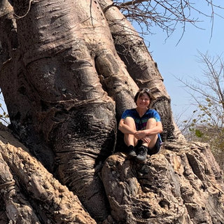 Lynette manages the school project and adores baobabs in her spare time!