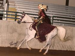 Lei Huua, arabian costume
