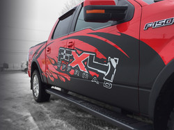 Lettrage camion FX4