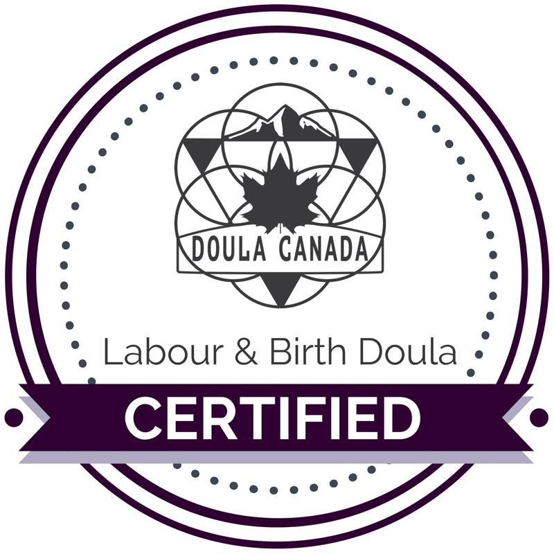 Doula Canada Certified Labour & Birth Doula