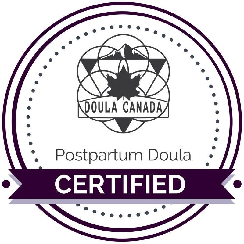 Doula Canada Certified Postpartum Doula