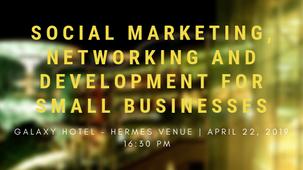 Αρχές του μάρκετινγκ, της επιχειρηματικής δικτύωσης και της ανάπτυξης για μικρές επιχειρήσεις