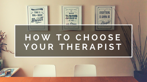 Πώς να επιλέξετε τον θεραπευτή σας (ηχητικό πρόγραμμα)