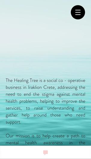 The Healing Tree project on-the-go: ένας νέος τρόπος να επικοινωνούμε μεταξύ μας