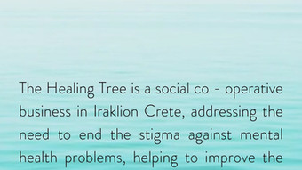 The Healing Tree project on-the-go: ένας νέος τρόπος να επικοινωνούμε μεταξύ μας