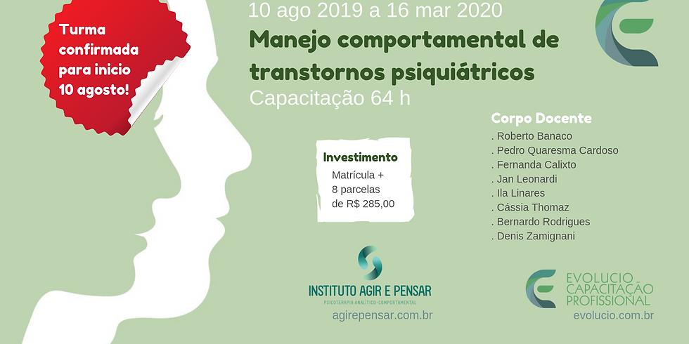 Santos -SP- Capacitação em Manejo Comportamental de Transtornos Psiquiátricos (4)