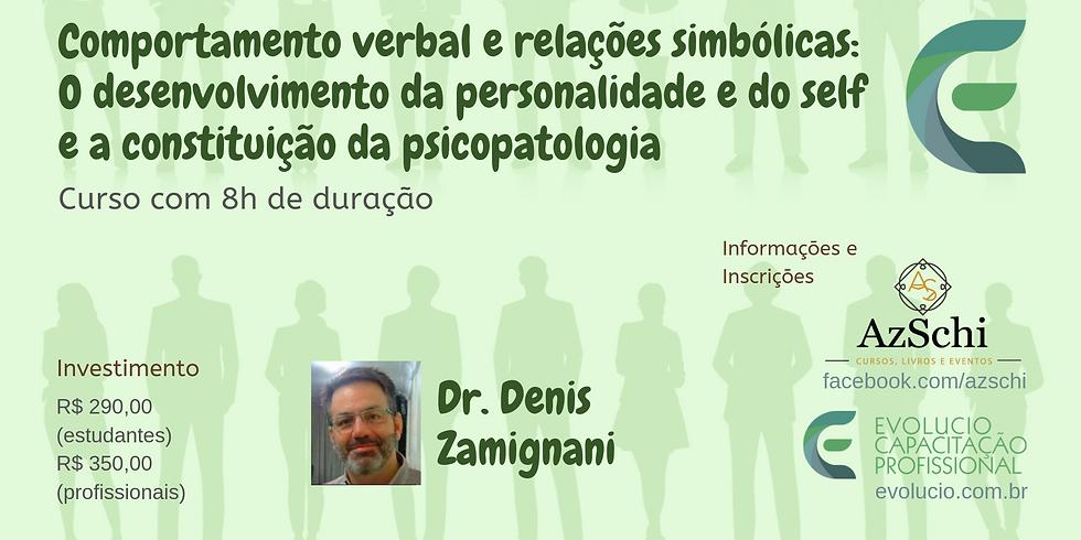 Curitiba - PR - Comportamento verbal e relações simbólicas
