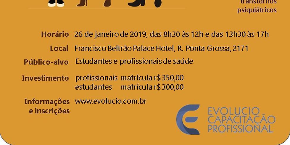 Francisco Beltrão - PR -  Avaliação e manejo dos transtornos de personalidade – Unidade I  ...