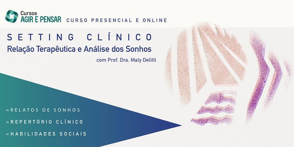 Santos - SP - Setting Clínico: Relação Terapêutica e Análise dos Sonhos