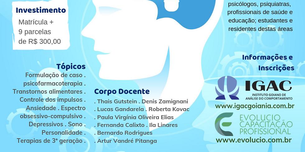Goiânia - GO - Capacitação em manejo comportamental de transtornos psiquiátricos (2)