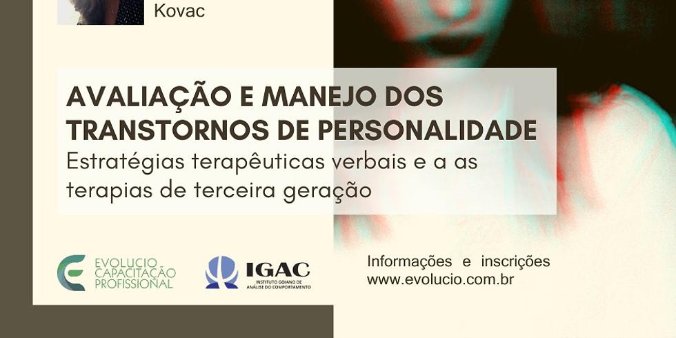 Goiânia- Go - Avaliação e manejo dos transtornos de personalidade