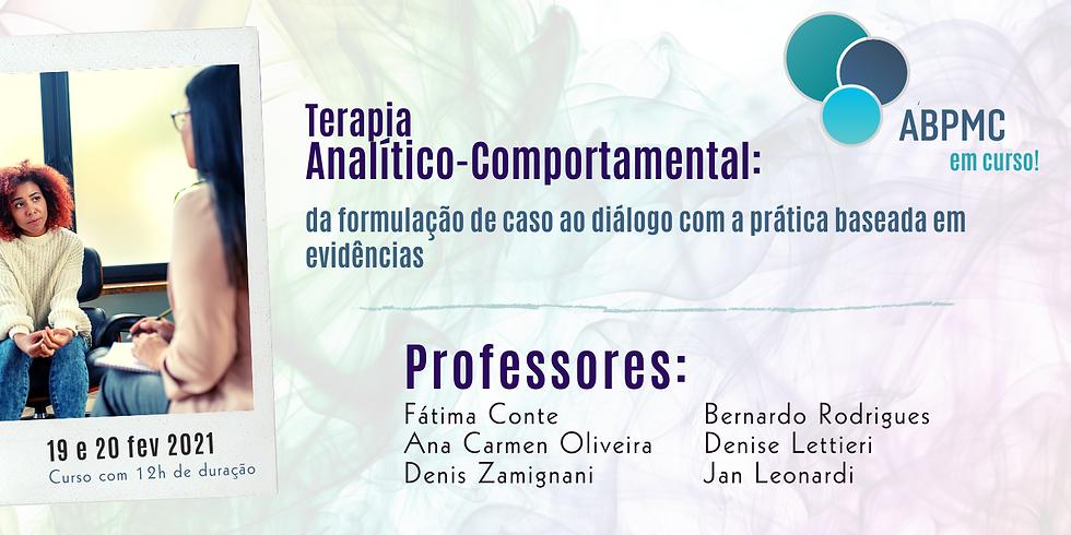 Terapia Analítico-Comportamental:  da formulação de caso ao diálogo com a prática baseada em evidências