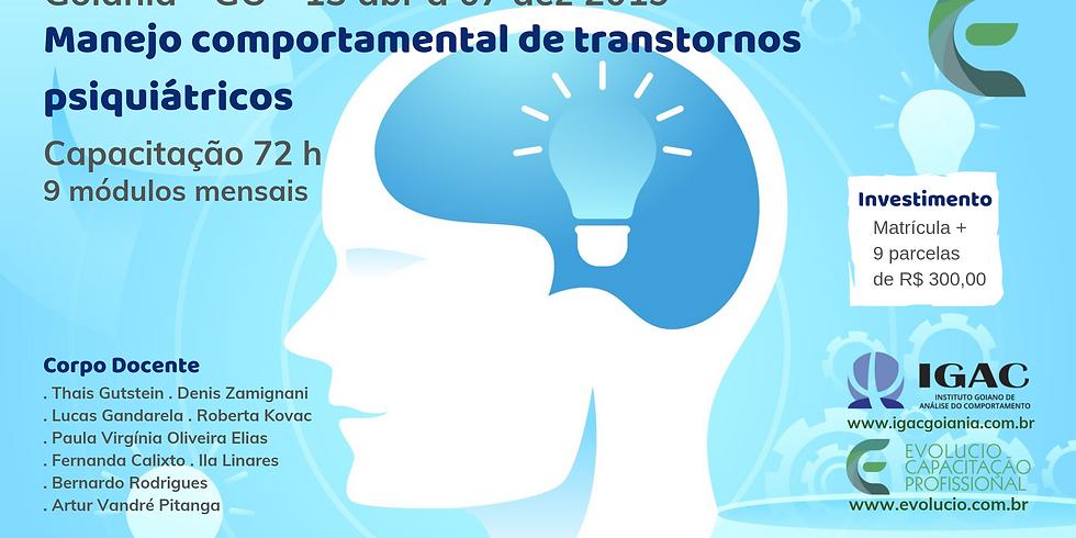 Goiânia - GO - Capacitação em manejo comportamental de transtornos psiquiátricos (4)