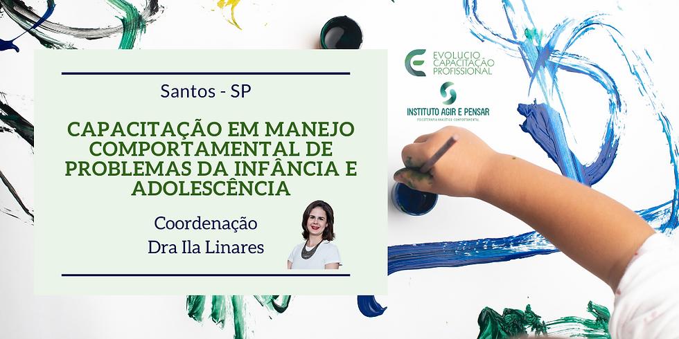 Santos - SP - Capacitação em Manejo Comportamental dos Problemas da Infância e da Adolescência