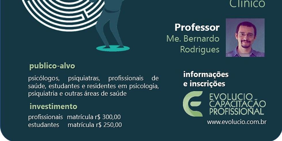 Santa Cruz do Rio Pardo -SP - Habilidades Terapêuticas. Da Entrevista  à Formulação de caso Clínico