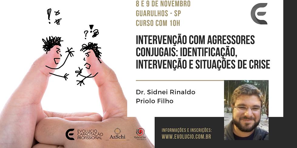 Guarulhos-SP-Intervenção com agressores conjugais: identificação, intervenção e situações de crise