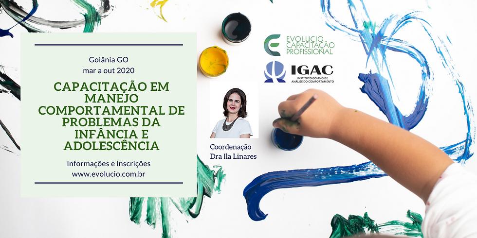 Goiânia - GO - Capacitação em Manejo Comportamental dos Problemas da Infância e Adolescência