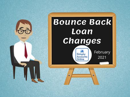 Bounce Back Loan Changes Feb 2021