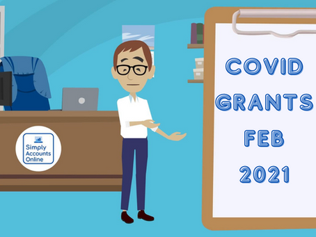 Covid Support Grants February 2021