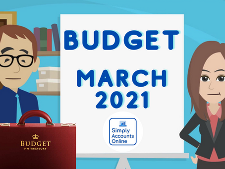 Does The Budget Effect Your Business? - March 2021