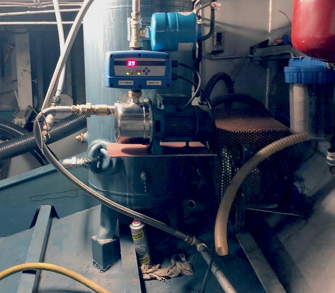 noodoplossing hydrofoor