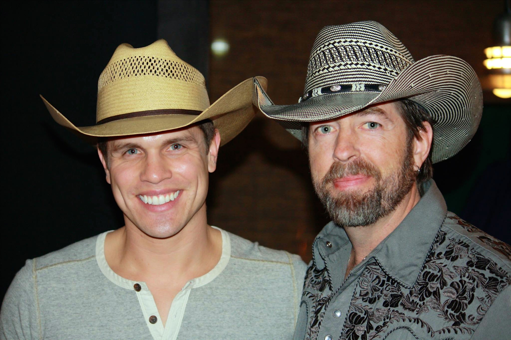Dustin Lynch and Scott Gray