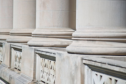 Architectural Columns on a Federal Courthouse for Lawyers seeking Justice.jpg