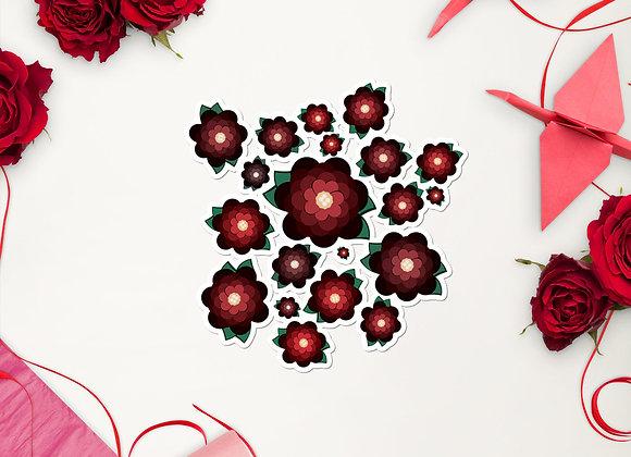 Heart Blossom Sticker