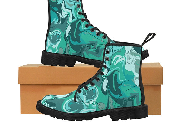 Seabreeze Women's Canvas Boots