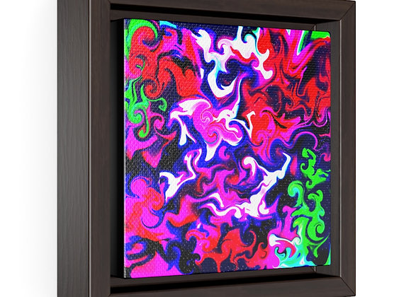 Protocluster Framed Premium Gallery Wrap Canvas