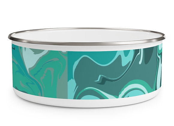 Seabreeze Enamel Bowl