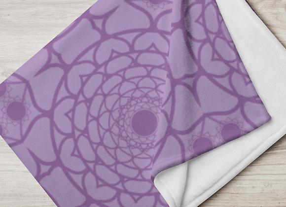Flower Mandala in Grape