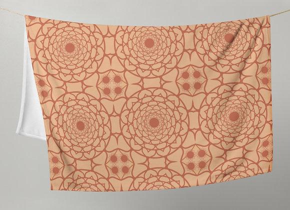 Flower Mandala in Sienna