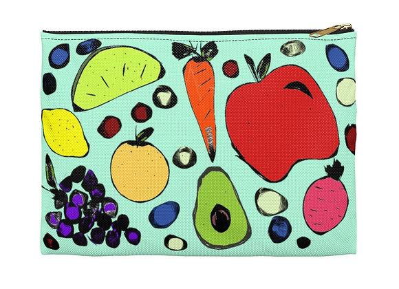 Fruits & Veg Zipper Pouch
