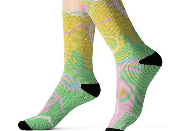 Pastels Sublimation Socks