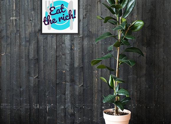 ETR! Framed poster
