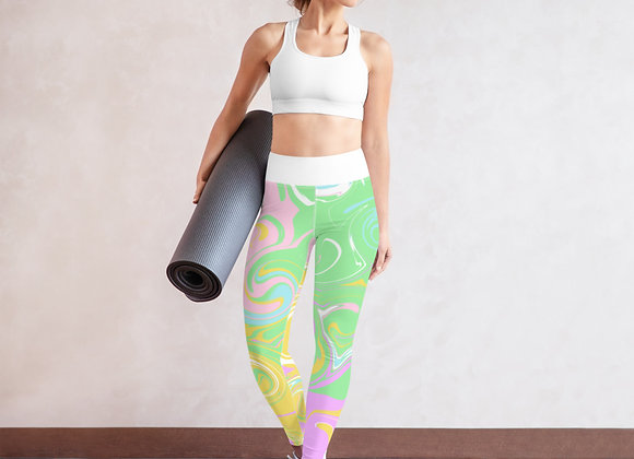 Pastels Yoga Leggings