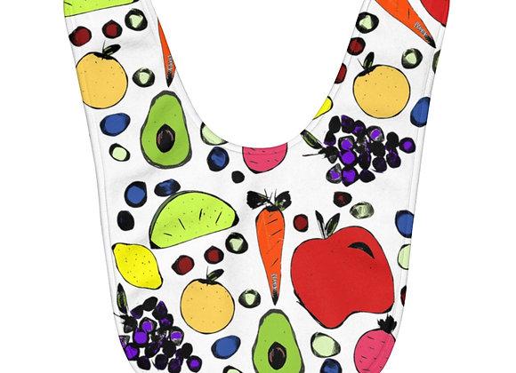 Fruits & Veg Baby Bib